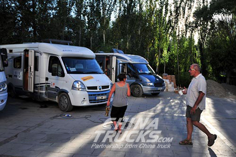 French limo team arrives in China