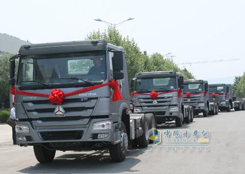 Heavy Trucks to Nigeria