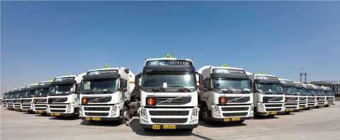 Volvo Trucks Transport Solutions Helps Logistics Companies