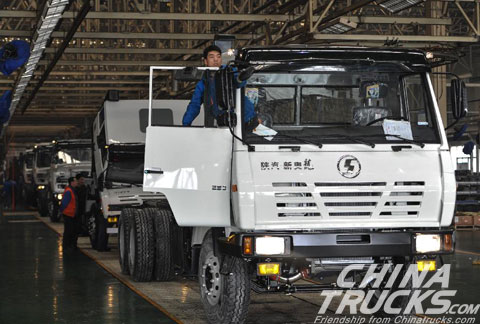 Shaanxi Heavy Duty Auto Achieved Good Export Volumes
