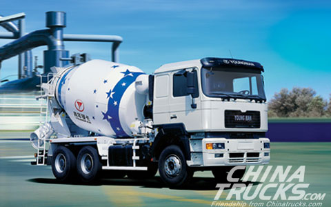 Youngman Cement Mixer Truck JNP5250GJB-- Unique 3D Mixing Function of Blacksmith