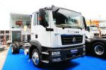 First Sitrak C5H Medium Trucks with 8 Airbags Roll off Production Line