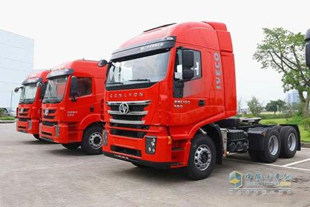 Hongyan's sending two GENESIS models to Wuhan Commercial Vehicle Exhibition.