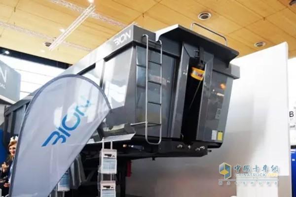 Bion Semi-trailer with HYVA Alpha Hydraulic Pressure system Showed on IAA