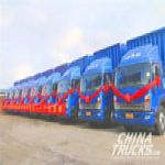 JAC Delivered 50 Shuailing Trucks to Guangdong Logistics