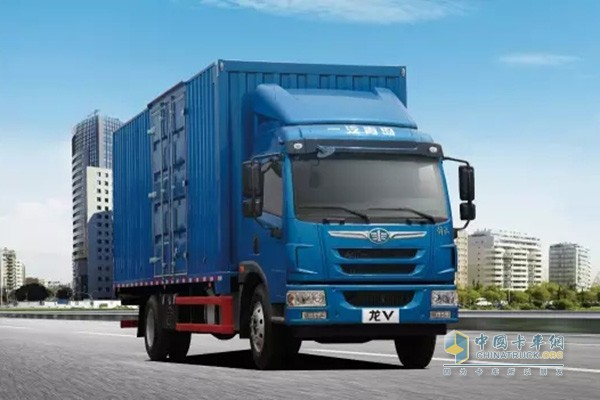 Jiefang V Truck Showed in Nanjing and Won Orders of 350 Units