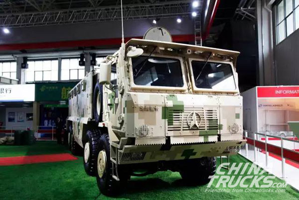 Beiben Showed Armour 8×8 Protective Transport Vehicle on Airshow China 2016