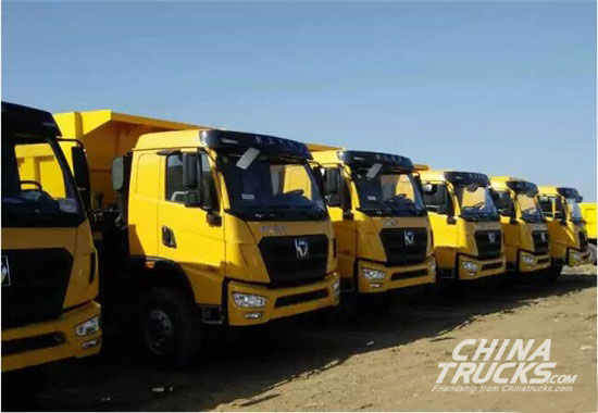 150 Mineral Dumpers Shipped to China Largest Colliery