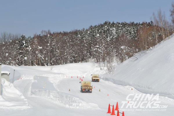 Allison Automatics Demonstrate Their Advantages in Snowy, Difficult Terrain