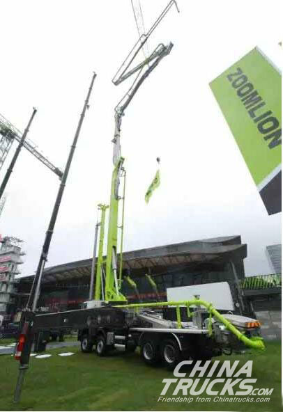 ZOOMLION Product 4.0 Army Showed in bauma 2016