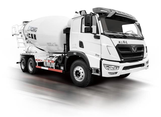XCMG Won Orders for 150 LNG Concrete Mixers in Rentals Market in Liaoning