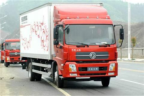 Dongfeng DFL5120XXYB1+Dongfeng Cummins Power+Dongfeng Transmission
