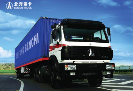 North Benz 2534S+Weichai Power+Beiben Transmission