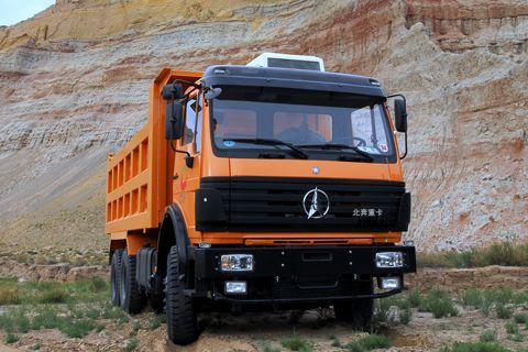 North Benz 2527K+Weichai Power+FAST Gearbox