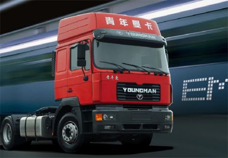 Youngman JNP4180FD16+Shanghai Hino Power+FAST Gearbox