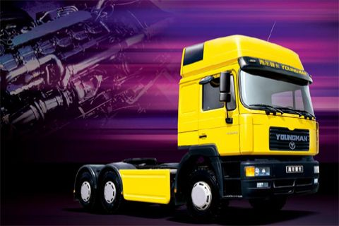 Youngman  JNP4250FD16+Shanghai HINO Engine+FAST Transmission
