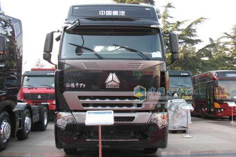 Sinotruk Shande Truck T7+MAN Power+SINOTRUK Transmission