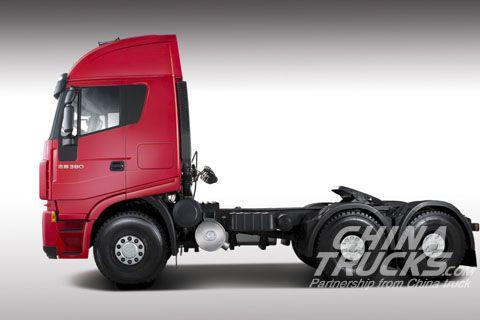 Genlyon 6x4 tractor CQ4254HRWG324+Weichai Power