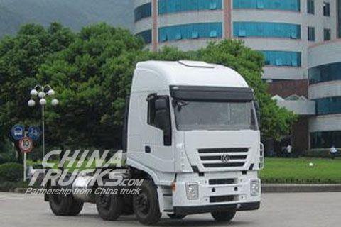 Genlyon 6x2 trailer tractor CQ4254HMDG273