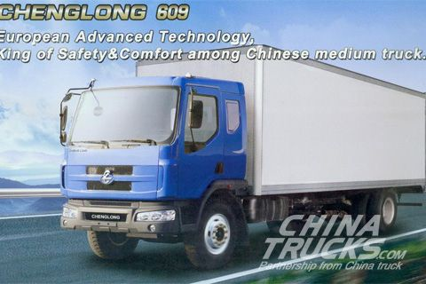 Chenglong 609 4x2 van
