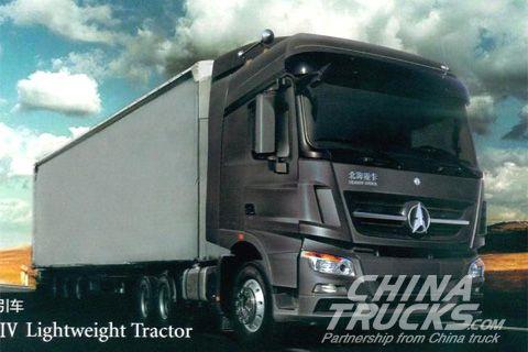 BeiBen Truck V3 State IV Lightweight Tractor+Weichai Power