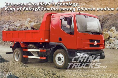Chenglong 609 series 4x2 medium dumper+Yuchai Power