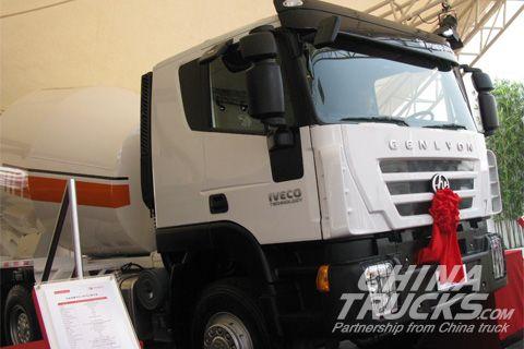 Genlyon 6x4 340 horsepower mixer truck