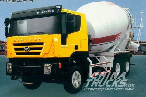 Genlyon 340 mixer truck