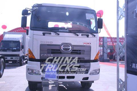 HINO 700 series 6X4 dumper+HINO Power+FAST Gearbox