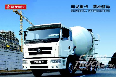 Chenglong 6x4 heavy mixer truck