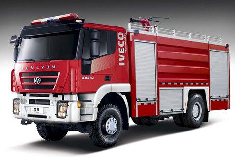 GENLYON 4×2 Water Tank Fire Truck