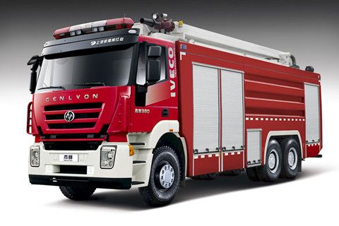 GENLYON 6×4 Water Tower Fire Truck