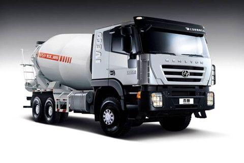 GENLYON 6×4 Concrete Mixer Truck