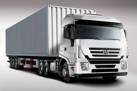 GENLYON Three Axles Semi-Trailer Cargo Truck