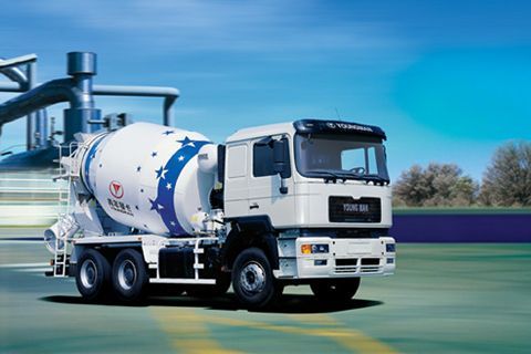 Youngman JNP5250GJB Cement Mixer Truck