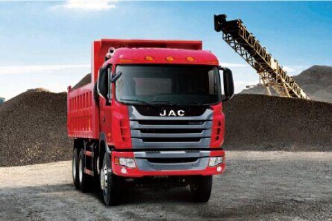 JAC HFC3253KR1 Dumper+Cummins Power+ZF Gearbox