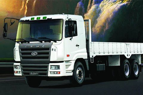 CAMC 8x4 Cargo Truck+Cummins Power+FAST Gearbox