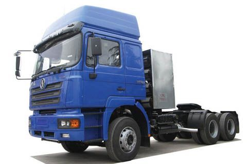 Shacman CNG tractor+Weichai Power+FAST Transmission