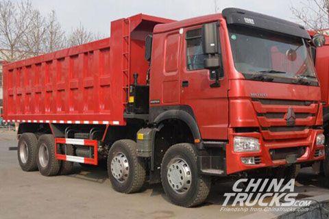 Sinotruk Howo 8x4 Dumper+SINOTRUK Power+SINOTRUK Gearbox
