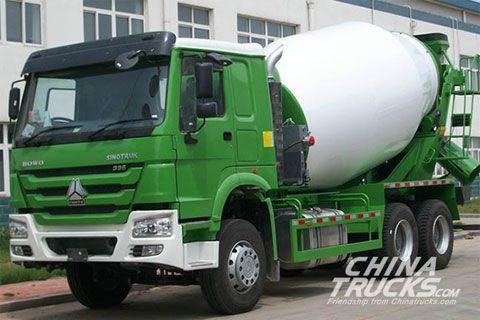 Sinotruck Howo 6x4 Cement Mixer ZZ1257N3847D1