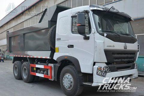 Sinotruk Howo A7 6x4 Dump Truck ZZ3257N3647N1
