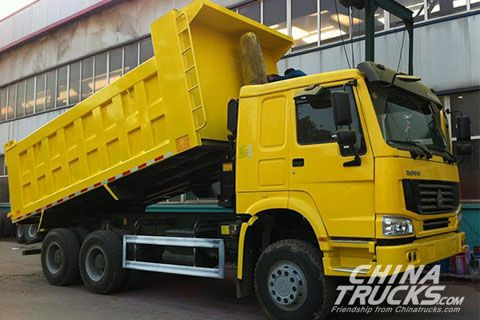 Sinotruk Howo 6x4 Dump Truck ZZ3257N3647C+SINOTRUK Power+SINOTRUK Gearbox