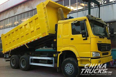 Sinotruk Howo 6x4 Dump Truck ZZ3257N3647C