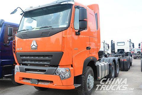 Sinotruk Howo A7 6x4 Tractor+SINOTRUK Power+SINOTRUK Gearbox