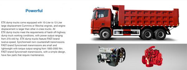 Foton AUMAN ETX Dump Trucks