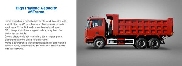 Foton AUMAN GTL Dump Trucks
