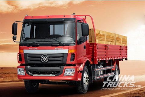 Foton AUMAN ETX Medium-Duty Flatbed Trucks