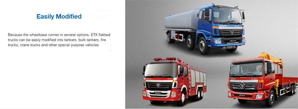 Foton AUMAN ETX Heavy-Duty Flatbed Trucks