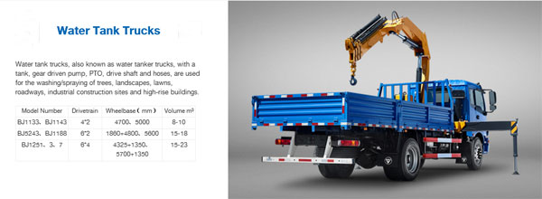 Foton AUMAN Light Truck Special Vehicle