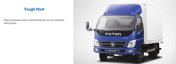 Foton AUMARK TX Light-Duty Trucks
